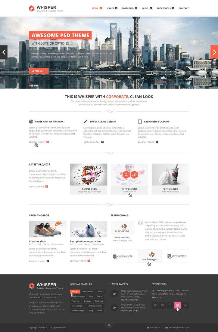 25 Best Corporate Website Design Examples For Your Inspiration Corporate Website Design Fun Website Design Corporate Web Design