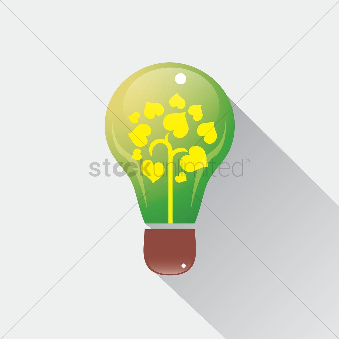 Electric bulb vector illustration