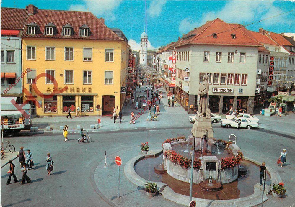postcard darmstadt ernst ludwig strasse damals pinterest darmstadt germany and cities. Black Bedroom Furniture Sets. Home Design Ideas
