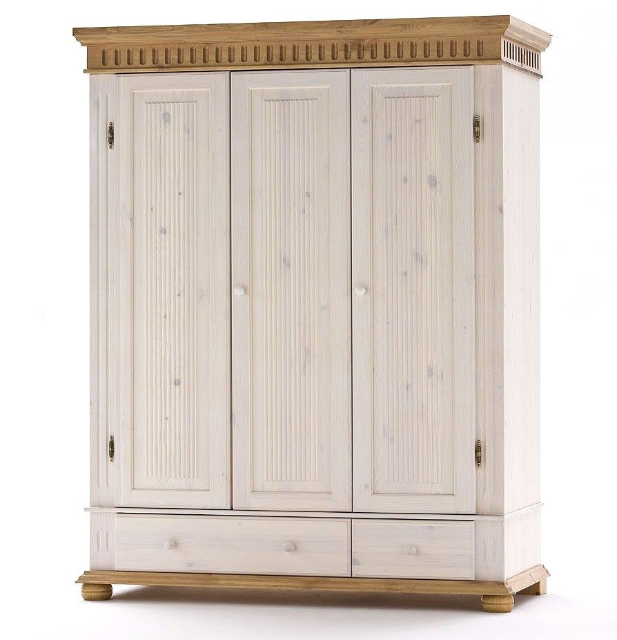 BabyzimmerSet komplett Paul Kiefer massiv Holz weiß antik