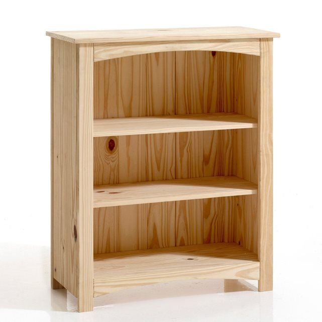 Mueble estantería bajo de pino macizo, Perrine La Redoute Interieurs