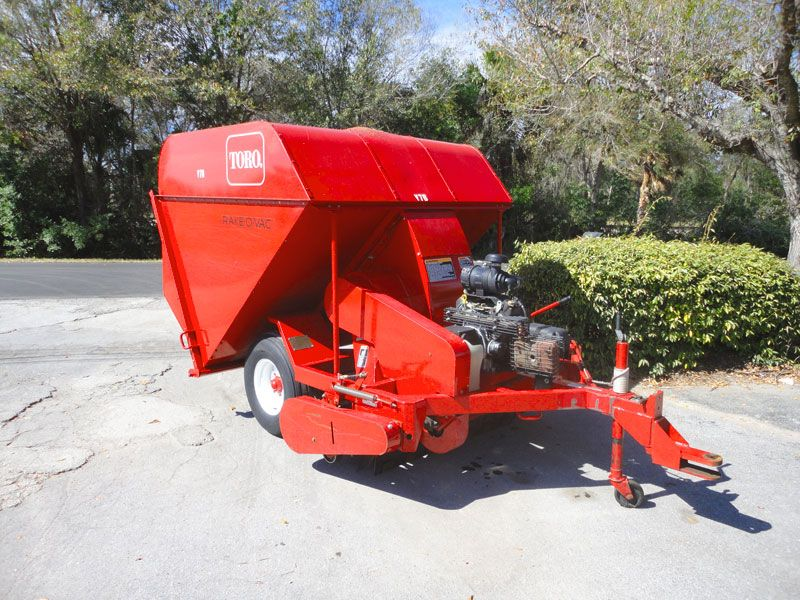 2005 Toro Rake O Vac Sweeper Vac Tractors Some Pictures