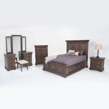 Tuscany Storage Bedroom Set My room in 2018 Pinterest Bedroom