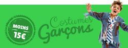 Déguisements garçons pas chers - Centaines costumes jusqu'à 15€