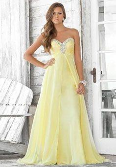 Empire A-line Sleeveless Zipper Brush Train Draping Beaded Sweetheart Chiffon Prom Dress