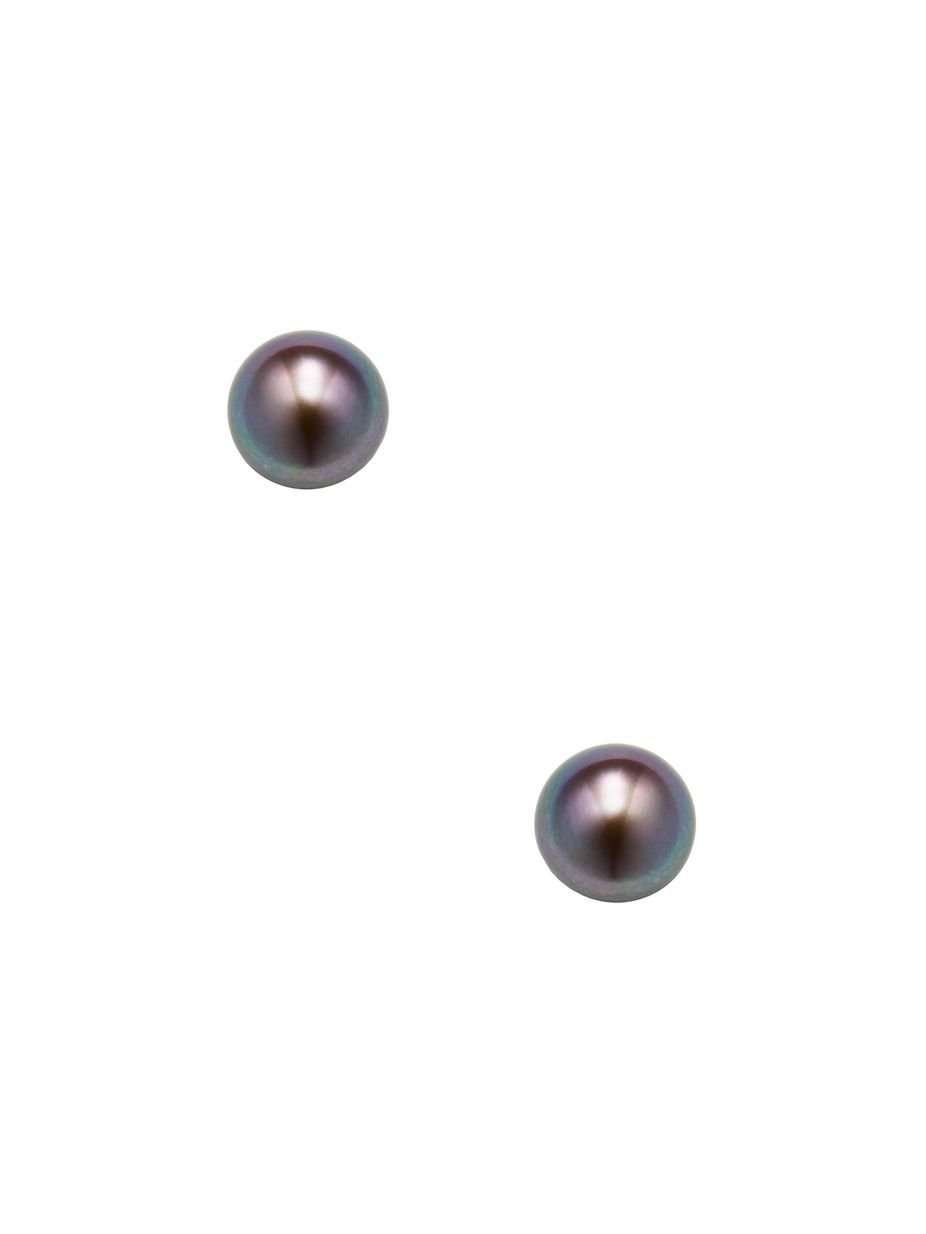 Alanna Bess Jewelry Pearl Stud Earrings