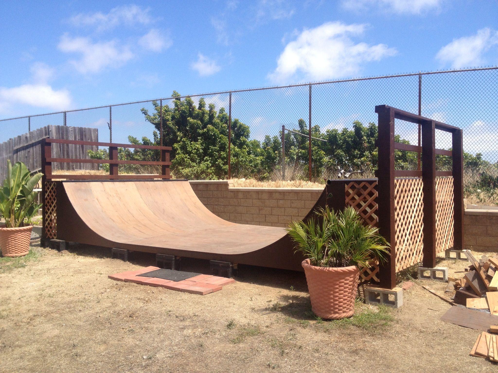diy half pipe ramp skatboarding pinterest skateboard mini