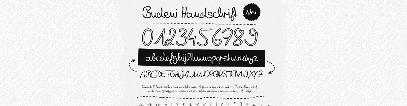 Best and Most Popular Free Handwritten Fonts - aviatstudios.com