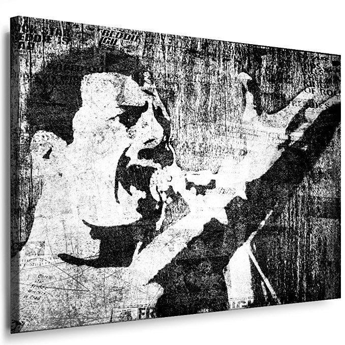 Freddie Mercury Queen Leinwandbild 80x60cm Nr445568 K Poster