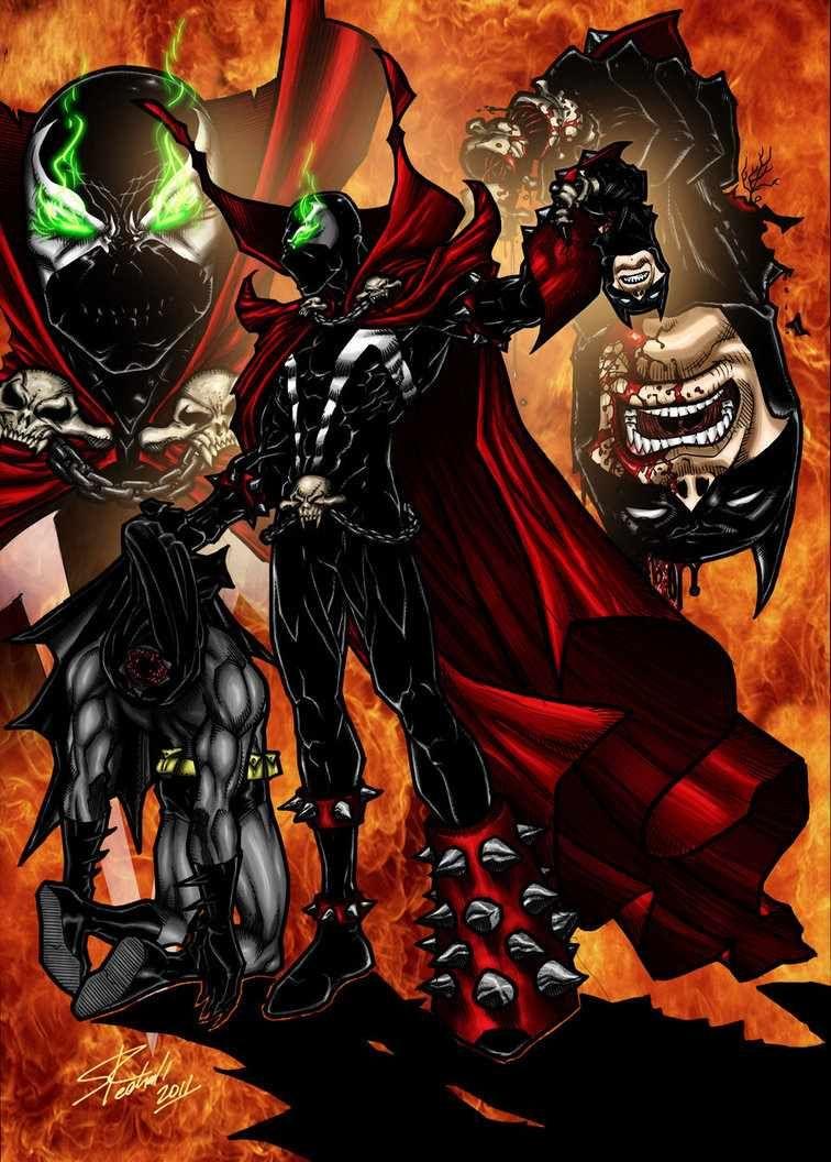batman vs spawn - Google Search | Gotham | Pinterest