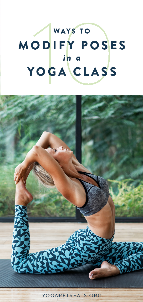10 Ways to Modify Poses in a Yoga Class yoga retreats in