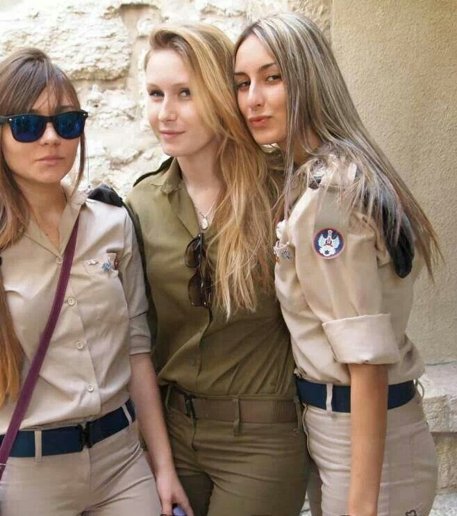 Women of the IDF (Israeli Defense Forces) - Caveman Circus