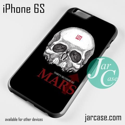 30 seconds to mars skull logo Phone case for iPhone 6/6S/6 Plus/6S plus