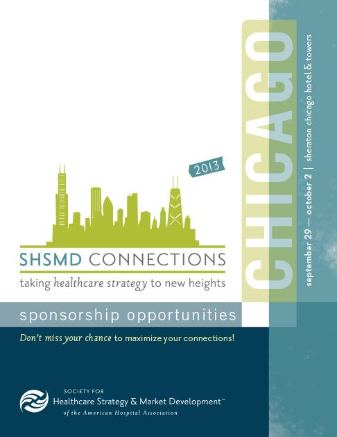 Hughes Designcommunications SHSMD Conference Brochure Templates - Sponsorship brochure template