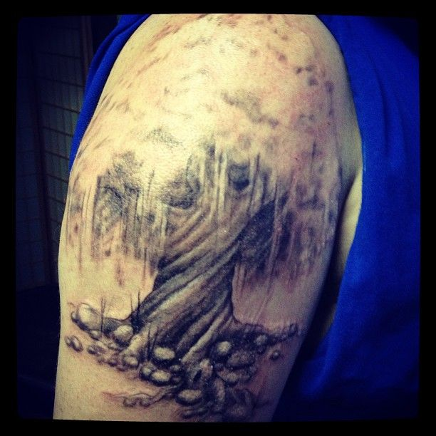 Tree Tattoo Family Strength Totem Tattoo Xenia Ohio Family