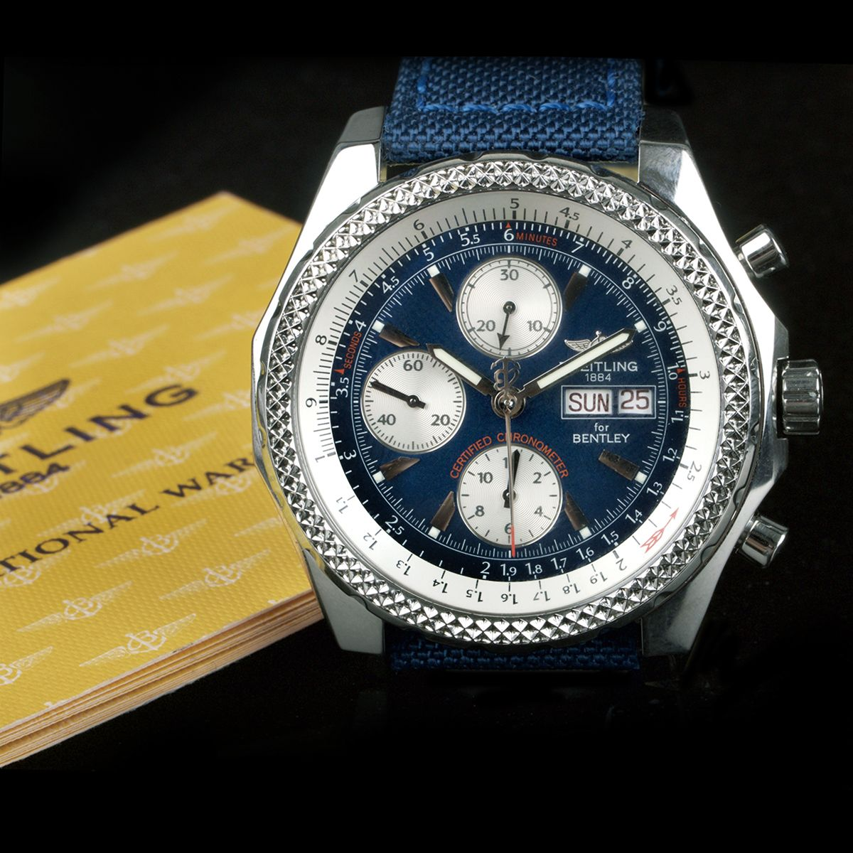Breitling For Bentley Special Edition Ex Display uac Breitling
