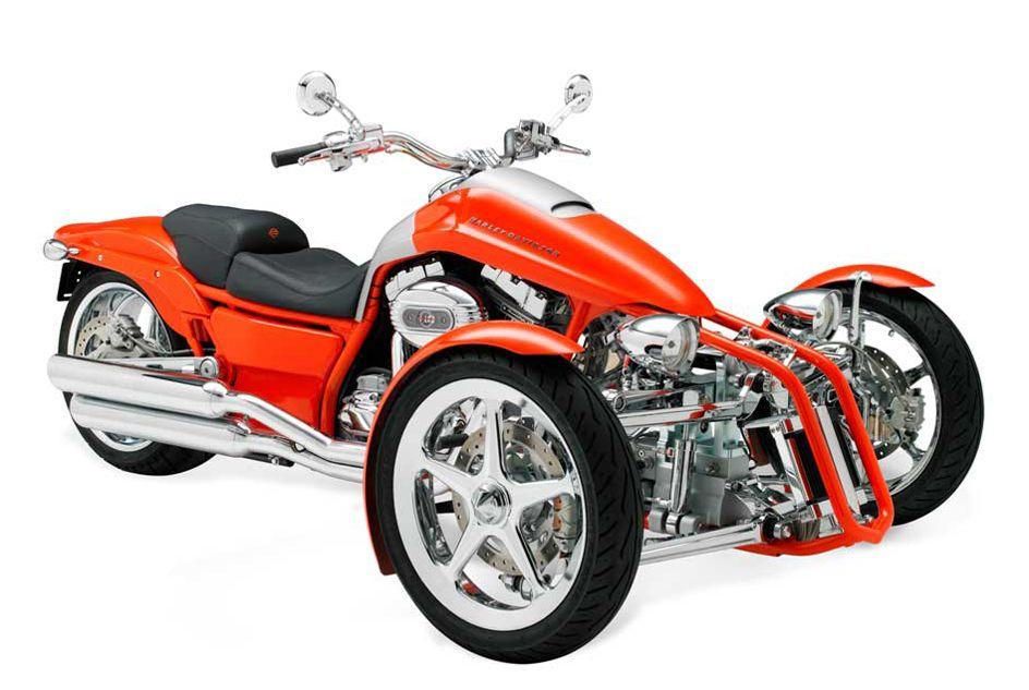 Harley Davidson penster-leaning-trike-prototypes