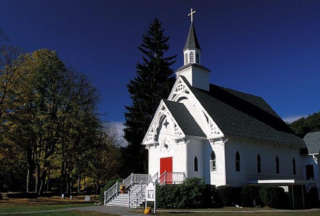 St. Bridget Church in West Cornwall, Connecticut