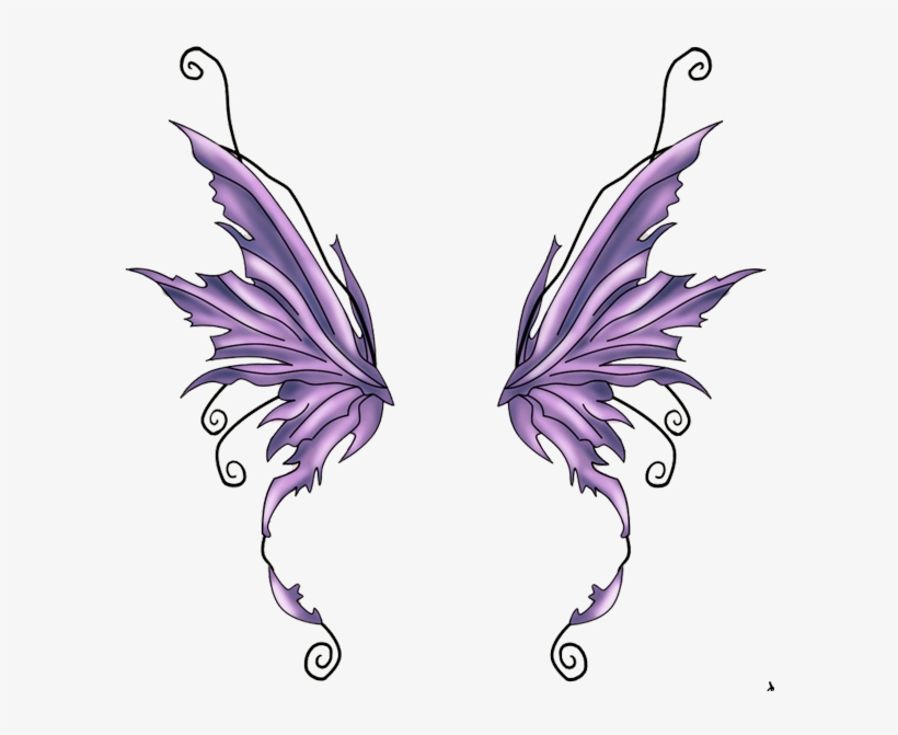 Download Fairy Wings Png Butterfly Wing Tattoo Design For Free Nicepng Provides Large Related H Butterfly Wing Tattoo Fairy Wing Tattoos Fairy Wings Drawing