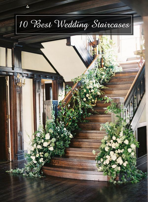 Wedding decorations most beautiful staircases decor pinterest staircase decoration and also rh