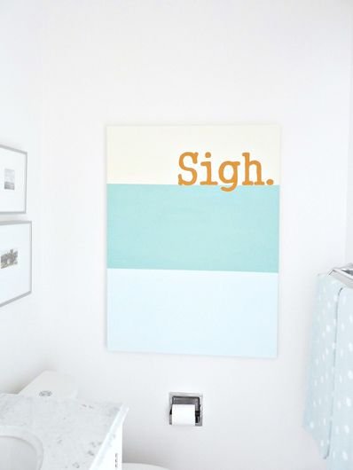 Super simple but very cute!    Fresh-Home_Sigh-Painting_Done