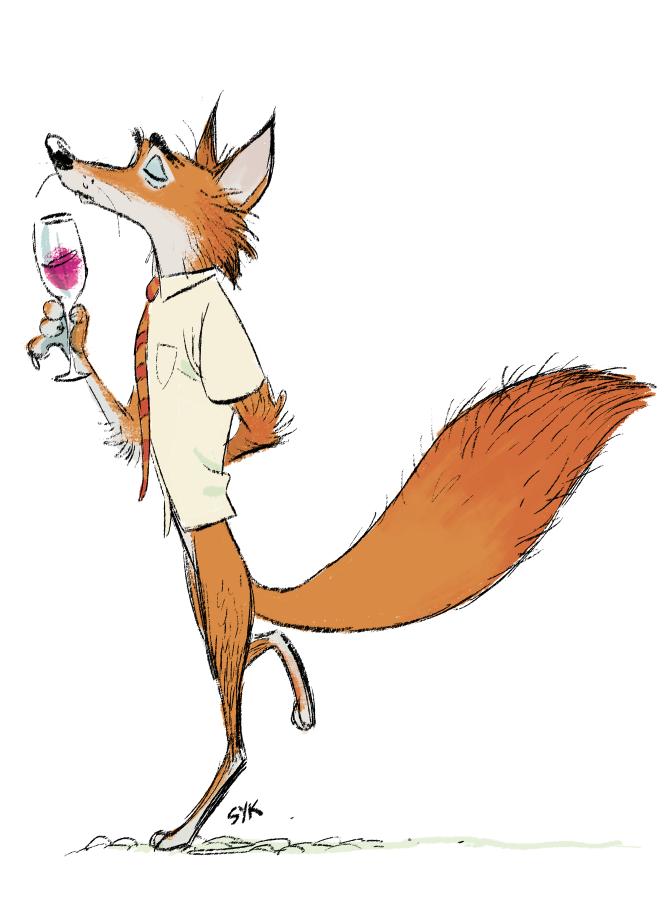 Shiyoon K Tried To Do A Chanticleer Version Of Fantastic Mr Fox Fox Art Fox Illustration Fantastic Mr Fox