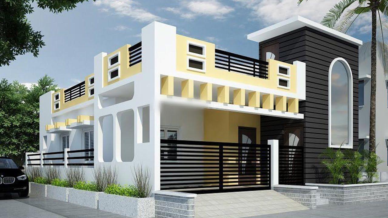 Single floor house elevation asianpaintscolourcombination exteriorrender ddesign drendering also rh nl pinterest