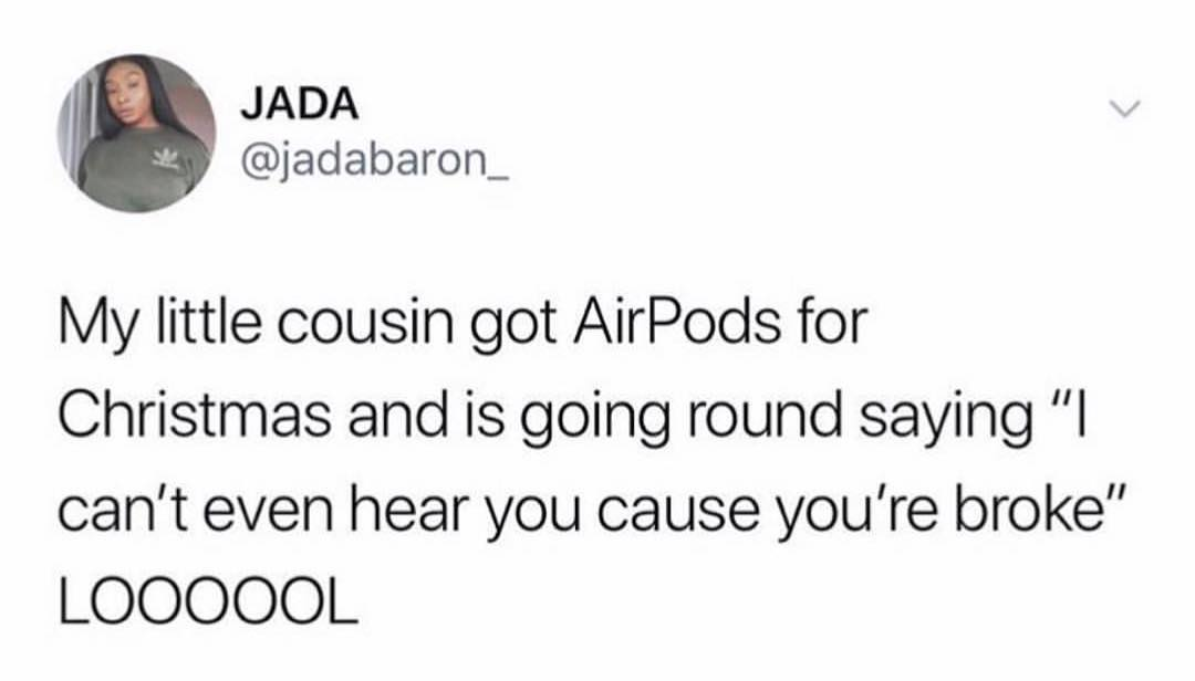 Airpod Users On A Whole Other Level Of Evolution Get More Gifs Funny Funnymemes Humor Videos Memes Funnypictures Funny Quotes Evolution Quotes Memes