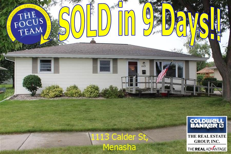 Sold in 9 days with the focus team sale house real