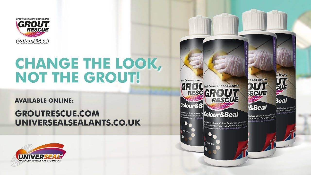 Grout Recolouring & Sealing Grout Rescue by Universeal