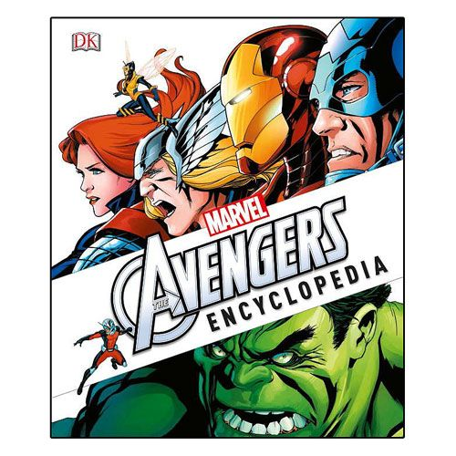 Marvel S The Avengers Encyclopedia Hardcover Book Entertainment Earth Marvel Encyclopedia Avengers Marvel Avengers