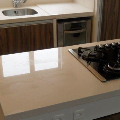 porcelanato para balcão de cozinha branco
