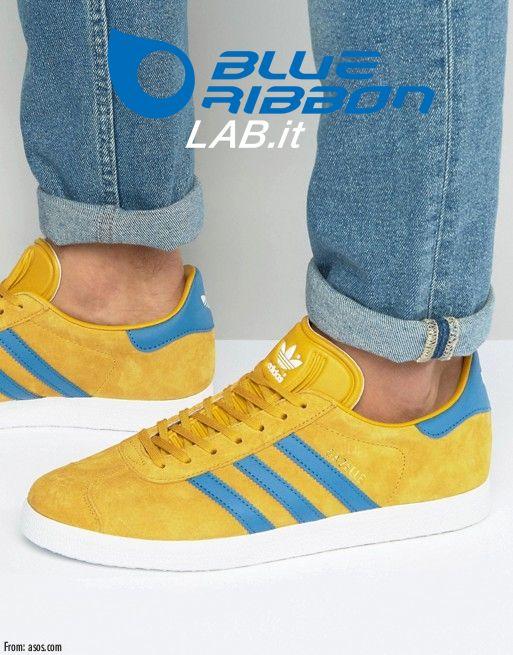 adidas gazelle giallo donna