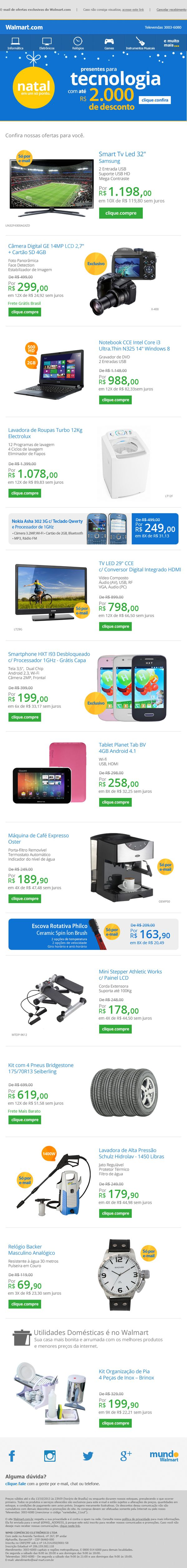 Walmart card offer prescreen - E Mail Marketing Para O Cliente Walmart By Gabriela Orrego Via Behance