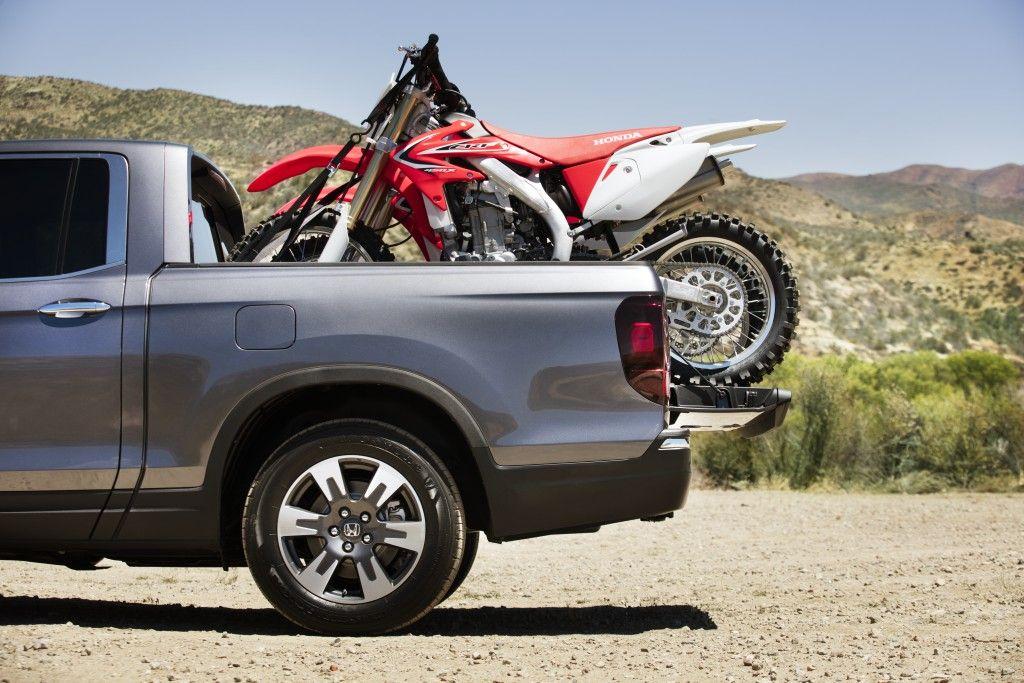 Ray Price Honda >> The 2017 Honda Ridgeline and a dirt bike. We can't think ...