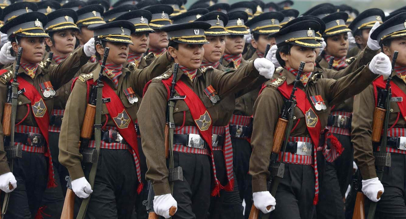 DEFENCE MINISTER APPROVES THE ADMISSION OF GIRLS IN SAINIK