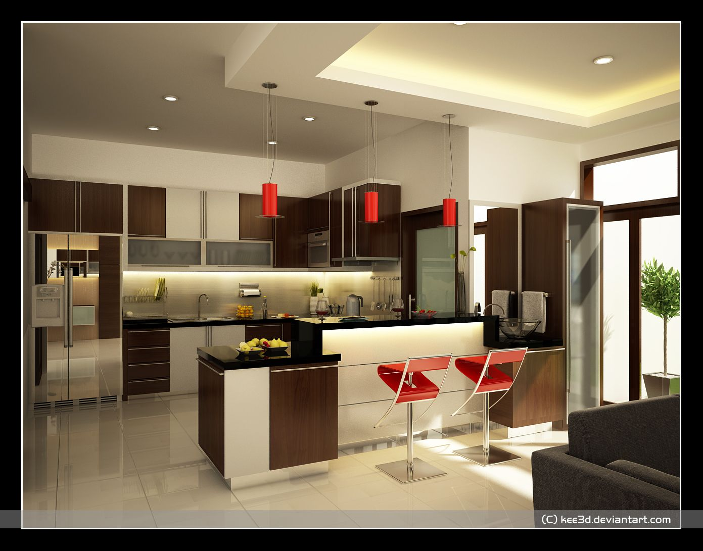 modern red kitchen interior design inspirations modern maroon kitchen design ideas bhutocom kitchen inspiration dom pinterest - Interior Design Kitchen Ideas