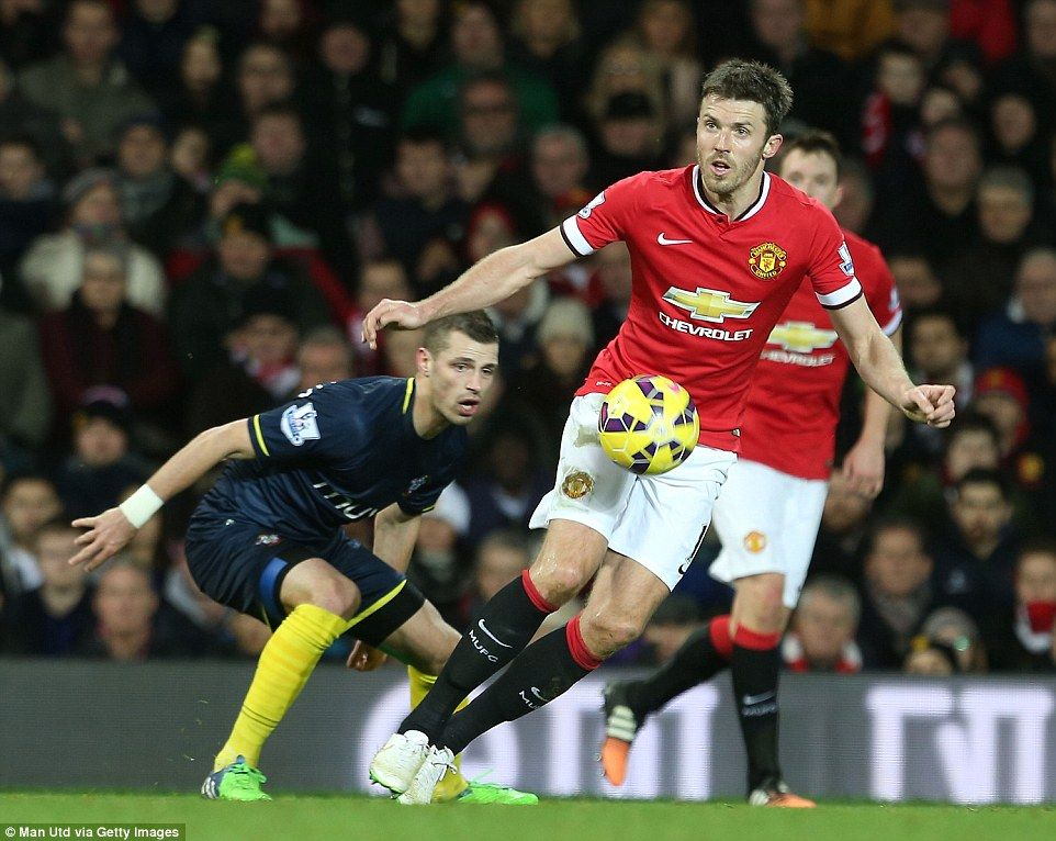 Midfielder Michael Carrick is the only member of the United squad who is currently unavailable for Van Gaal to select against Swansea