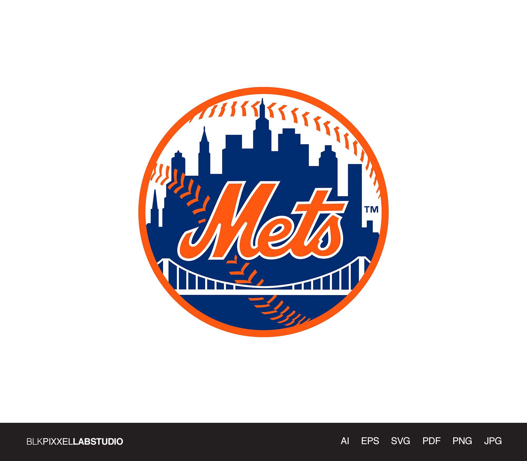 New York Mets Svg Mlb Svg Husband Gift Gift For Him Etsy New York Mets Logo New York Mets Mets