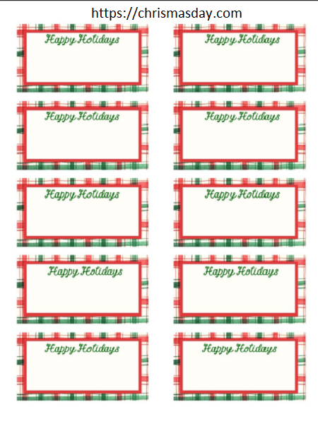 Editable Christmas Labels.Free Editable Christmas Labels Christmas Labels Diy