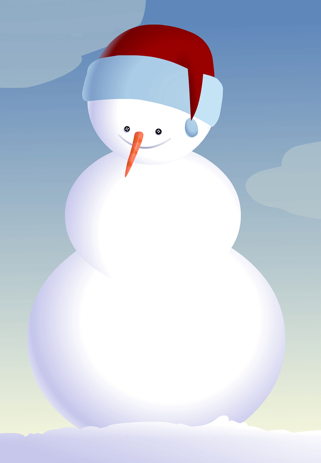 Snowman   Free Printable Christmas Invitation Template | Greetings Island