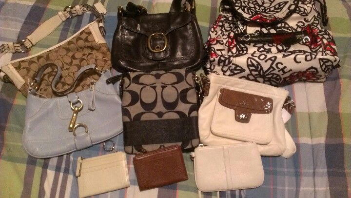 373fb118beab Gently used Coach purses for sale . Purses For Sale