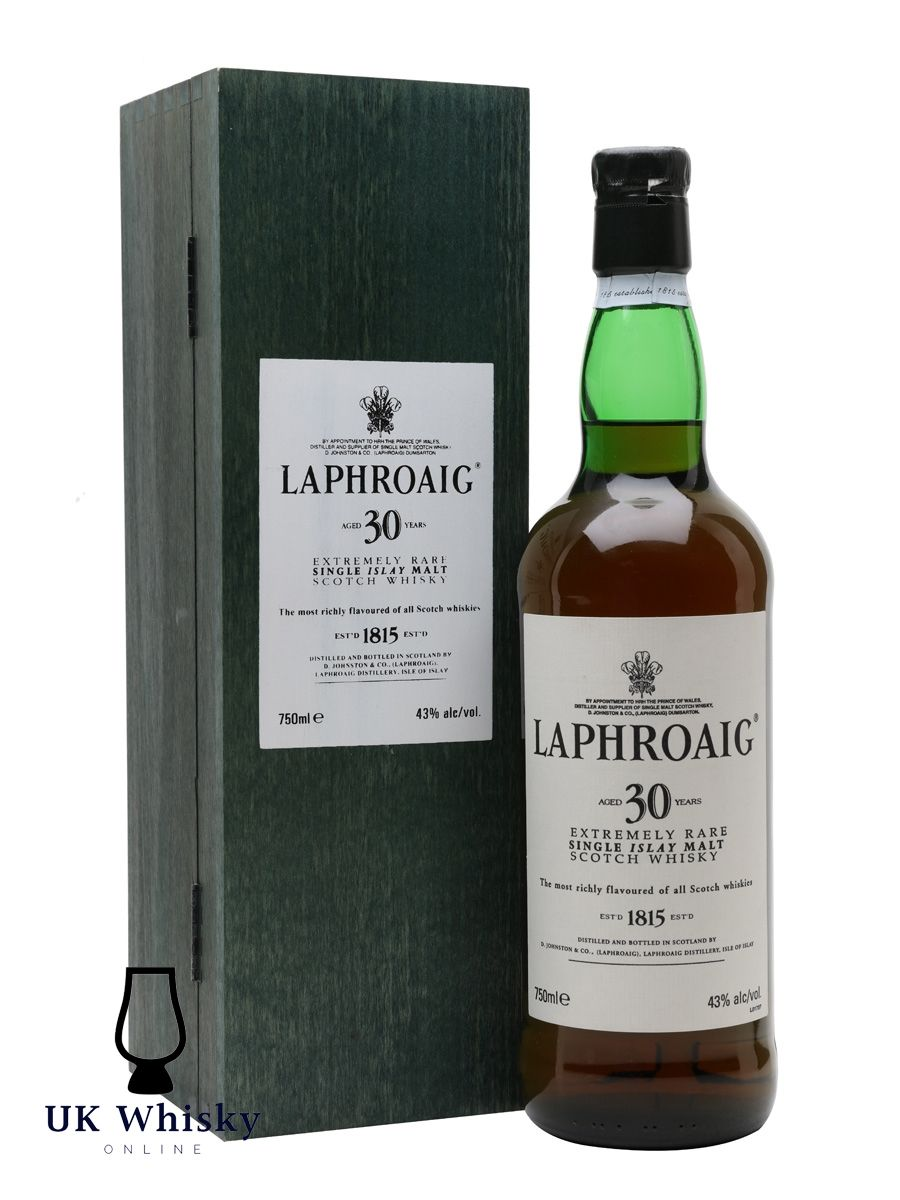 Originally Released In 2000 An Incredible Dram Is Becoming Rarer And Rarer Laphroaig 30 Year Old Has Gather Many Plaudits Which Includes Double Gold Medal At In 2020