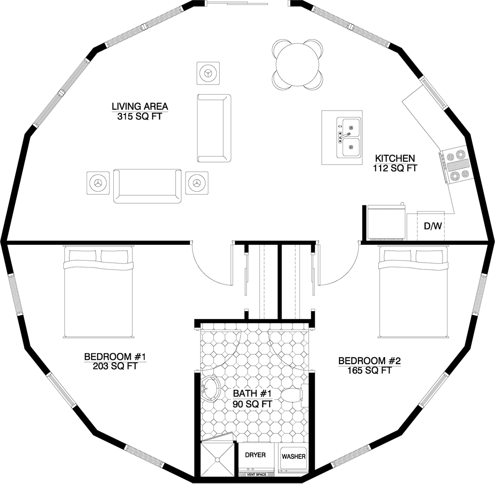 This Is The Main Floorplan I Want, With A Couple Of