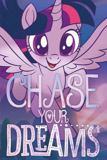 My Little Pony Movie Chase Your Dreams Plakat Z Filmu