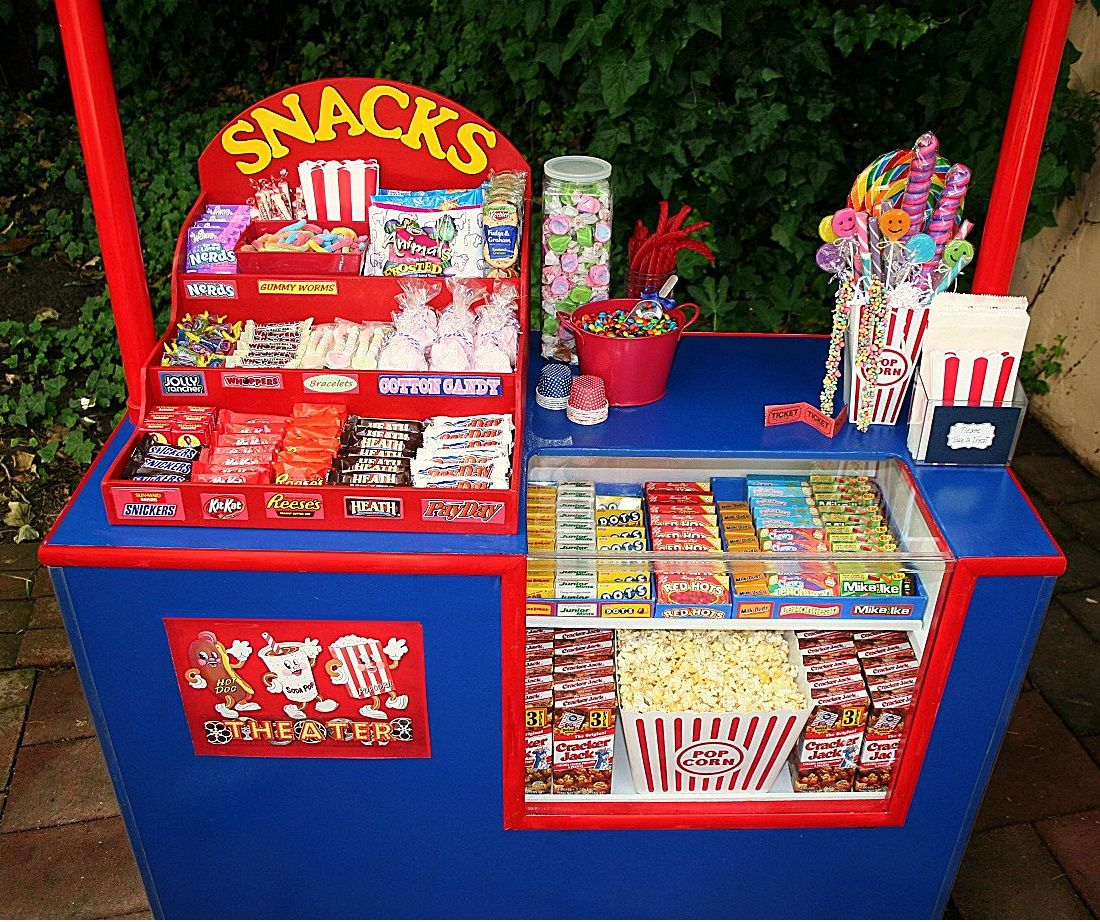 Childs concession stand goodies
