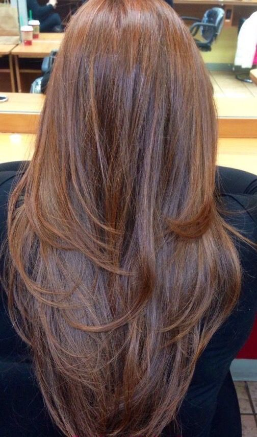 layer hair cut style layers all thin 5743