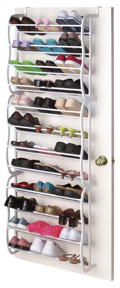 Schoenenkast Voor 36 Paar Schoenen.Afbeelding Van Casibel Hangschoenenrek Voor 36 Paar Schoenen