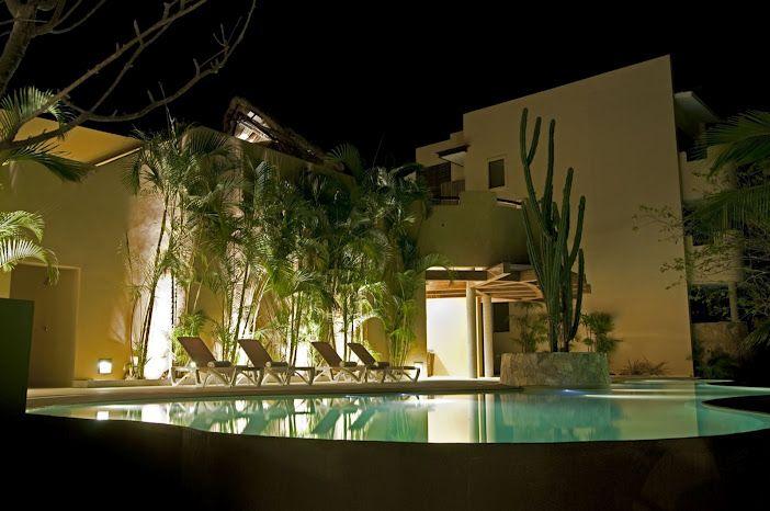 pool by night   Resort spa, Resort, Residences