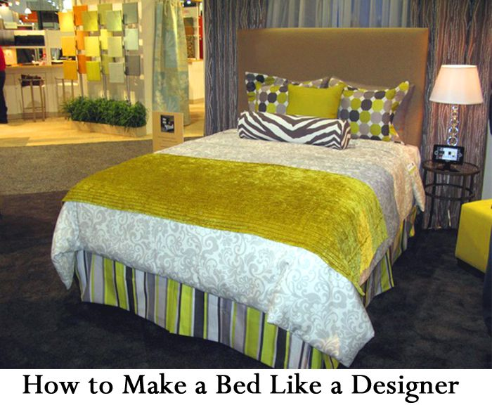 How To Make A Bed Like Designer Designers Bedroomaster Bedroom